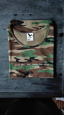 Tričká - Wild tričko - 8940939_