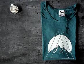 Tričká - Hory v nás - dámske tričko - 8941102_