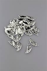 - Strieborné prívesky - anjelské krídlo prívesok - 8942574_