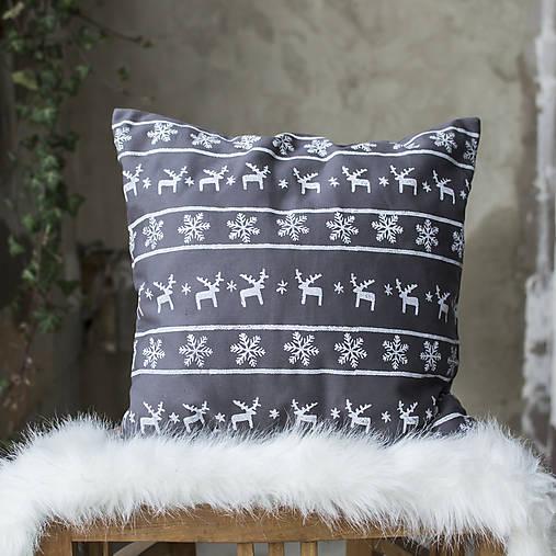 Úžitkový textil - Vianočný vankúš č.II - 8942459_