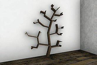 Nábytok - Polica strom - 8942298_