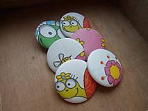 Materiál ručne robený - buttons/gombík korytnačky - 8941223_