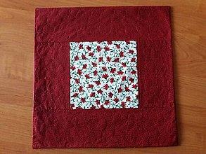 Úžitkový textil - Návliečka na vankúšik - vianočná - 8941898_