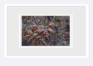 Obrazy - Šípky pod snehom - 8942180_