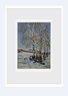 Obrazy - Prvý sneh na Drozdove - 8942419_