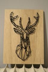 - Obraz Geometric Deer - 8938943_