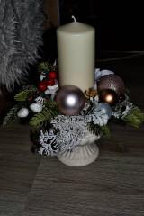 - Vianočná vázička na stôl - 8938955_