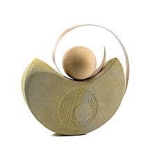 Socha - Socha z kameňa s názvom: Rotácia - 8939460_