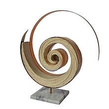 Socha - Textilná miniatúra s názvom: Expanzia - 8941669_