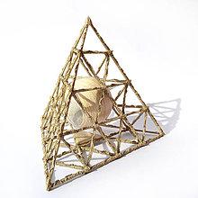 Socha - Textilná miniatúra s názvom: Enigma - 8941710_