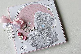 Papiernictvo - Detský album pre dievčatko - 8941083_