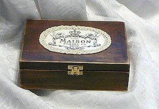 Krabičky - MAISON V KRAJKE - 8939788_