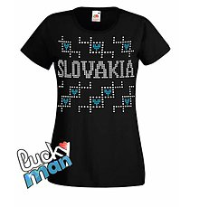Tričká - I love SLOVAKIA lady - 8942688_
