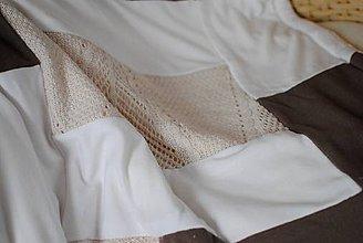 Textil - Béžová mäkká dečka - 8940181_