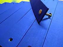 Nábytok - Kožené úchyty -  modré - 8942396_