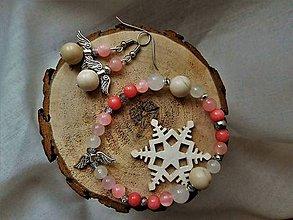 Sady šperkov - Náramok a náušničky - 8944572_