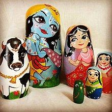 Hračky - Indické matriosky - 8943026_