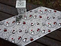 Úžitkový textil - Winter penguin... - 8944887_