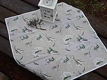 Úžitkový textil - Winter memories.... - 8944922_