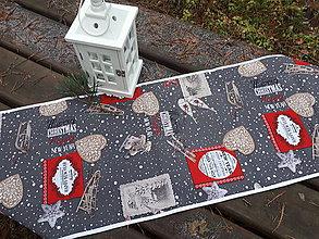 Úžitkový textil - Merry Christmas.. - 8944800_