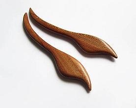 Ozdoby do vlasov - Drevené ihlice na počkanie, 3-5 dní - 8944188_
