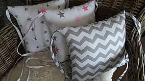 Textil - Hniezdo vankúše - 8944295_