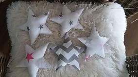 Detské doplnky - Girlanda hviezdy - 8944327_