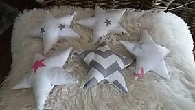 Detské doplnky - Girlanda hviezdy - 8944329_