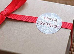 Papier - Vianočné samolepky 2 - 8943992_