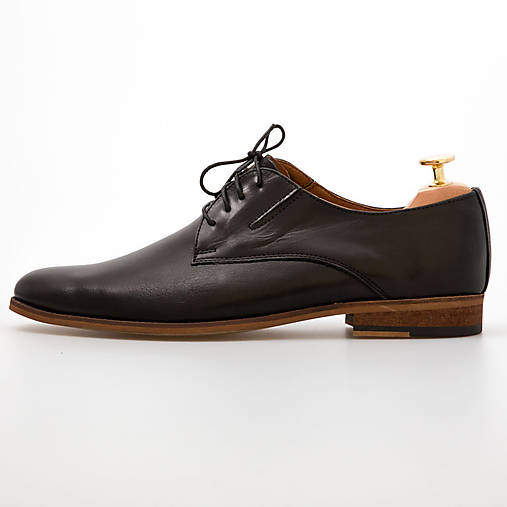 a4cfc66f65ca Čierne pánske kožené topánky   chalany - SAShE.sk - Handmade Obuv