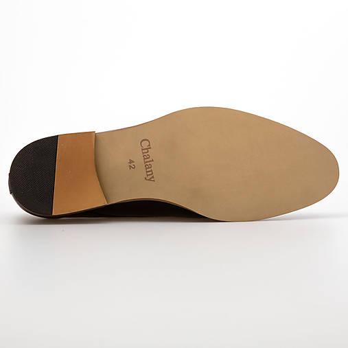 2abdbdb26e Čierne pánske kožené topánky   chalany - SAShE.sk - Handmade Obuv