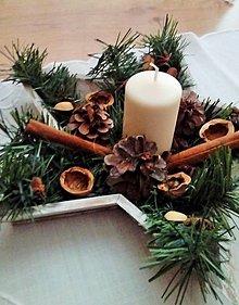 Dekorácie - vianočná dekorácia hviezda - 8943693_