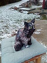 Socha - Keramická mačka - 8945105_