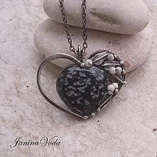 Náhrdelníky - ...PaRTHeNa HeaRT ... náhrdelník - 8944907_