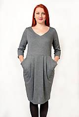 Šaty - Šaty s vreckami - 8943055_