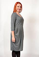 Šaty - Šaty s vreckami - 8943058_