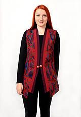 Iné oblečenie - Vzorovaná  vesta - 8943062_
