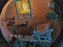 Dekorácie - veniec vianočný príbeh - 8944234_