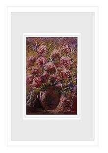 Obrazy - Hnedá váza - 8945304_