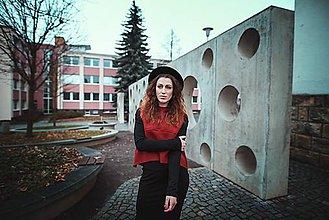 Iné oblečenie - RED vest - 8945603_