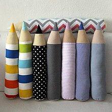 Úžitkový textil - Ceruzky skladom na poslednú chvíľu (šedá s malinkými bodkami, 50 cm - Šedá) - 8943053_