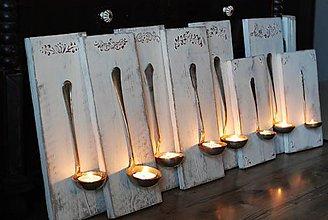 Svietidlá a sviečky - Žufankové svietniky - 8943208_