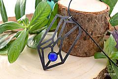 Náhrdelníky - Geometrický náhrdelník I. - 8944177_