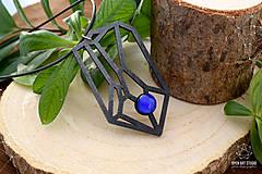 Náhrdelníky - Geometrický náhrdelník I. - 8944178_