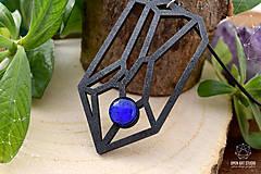 Náhrdelníky - Geometrický náhrdelník I. - 8944179_
