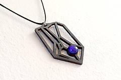 Náhrdelníky - Geometrický náhrdelník I. - 8944182_