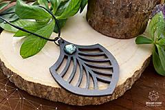 Náhrdelníky - Geometrický náhrdelník No. 3 - 8944205_