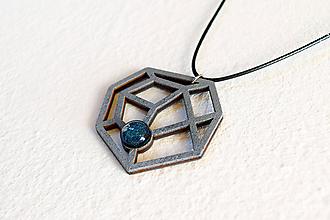 Náhrdelníky - Geometrický náhrdelník No. 2 - 8944194_
