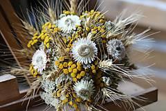 Dekorácie - Sušená kytička - 8946300_