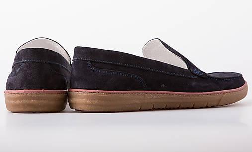 2e38991b19d0 Čierne semisove pánske topánky   chalany - SAShE.sk - Handmade Obuv
